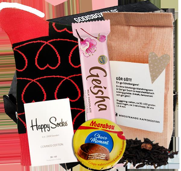 skicka choklad leverans samma dag